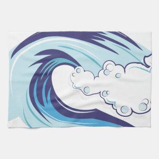 Wave Tea Towel