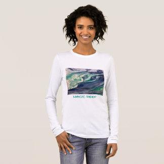 Wave Teeshirt Long Sleeve T-Shirt