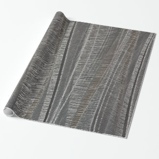 Wave Textured Concrete Wrapping Paper