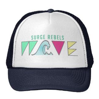 Wave truckers hat
