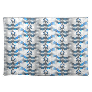 Wave Your Israeli Flag Placemat