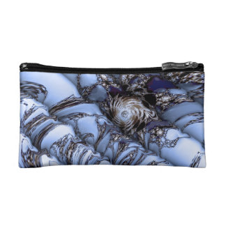 Waved Cosmetic Bag