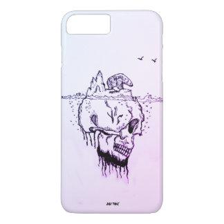 Wavelet @skull,@Just Think,Best companion iPhone 8 Plus/7 Plus Case