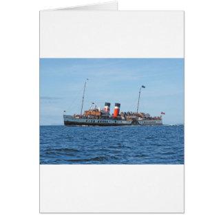 Waverly paddle steamer card