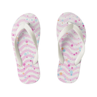 Waves1 - Kids Kid's Thongs