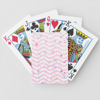 Waves2 Bicycle Playing Cards