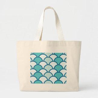 waves 1-01 large tote bag