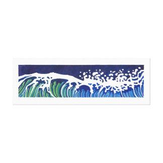 WAVES #2 CANVAS PRINT