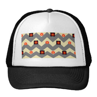 waves and flowers cap