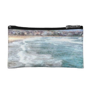 Waves at Bondi beach Cosmetic Bag
