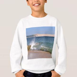 Waves at Cap-Ferret in France Sweatshirt