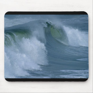 Waves At Ocean Beach Mouse Pad