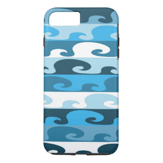 Waves (blue) iPhone 8 plus/7 plus case