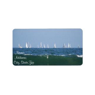 Waves & Boats_ Address Label