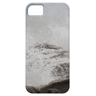 Waves breaking on rocks case for the iPhone 5