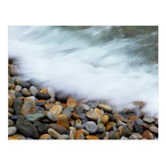 Waves Breaking Onto Pebbles, Tsitsikamma Postcard