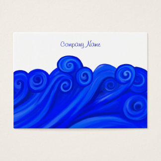 Waves, Company Name Business Card