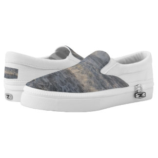 Waves Custom Zipz Slip On Shoes,  Men & Women Printed Shoes