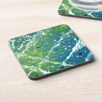 Waves Drink Coasters