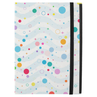 """Waves -happy dots- iPad pro 12.9"""" case"""