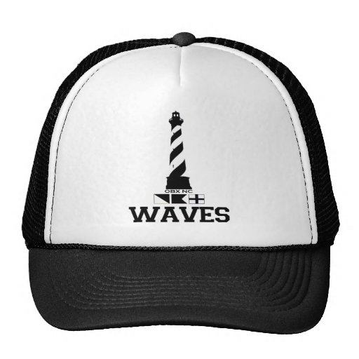 Waves. Hats