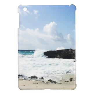 Waves hitting the shore iPad mini cases