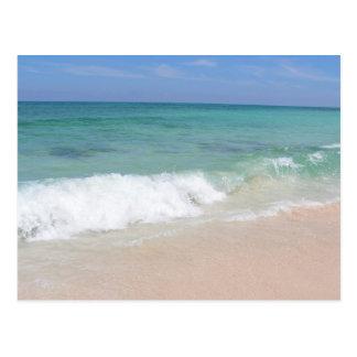 Waves in Cozumel Postcard