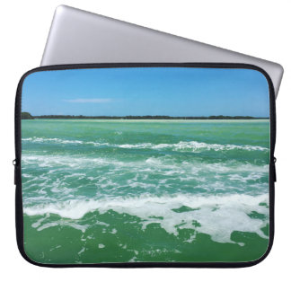 Waves in the Gulf of Mexico Laptop Sleeve