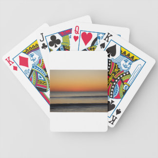 Waves in you Horizon Bicycle Playing Cards