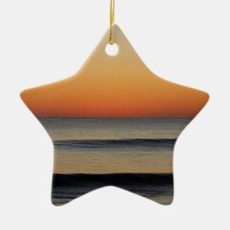Waves in you Horizon Ceramic Ornament