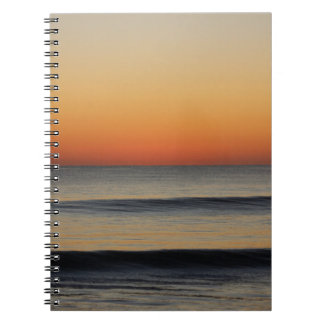 Waves in you Horizon Spiral Notebook