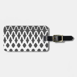 Waves into Particles Luggage Tag
