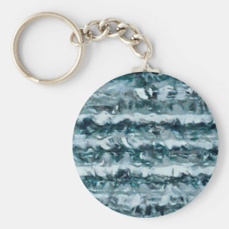 Waves Key Ring