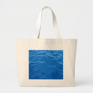 Waves Large Tote Bag