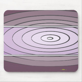 Waves Lilacs Mouse Pad