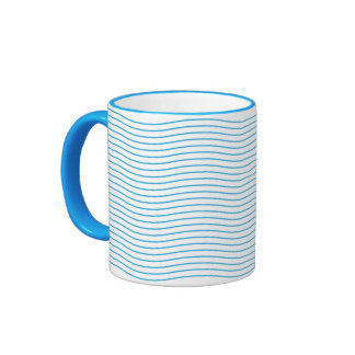 Waves Ringer Coffee Mug