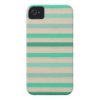 Waves of Aqua iPhone 4 Case-Mate Case