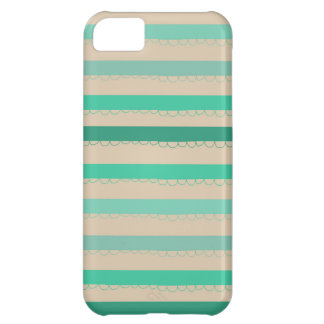 Waves of Aqua Cover For iPhone 5C