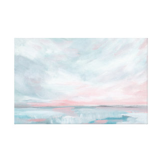 Waves of Change - Stormy Sea Seascape Canvas Print