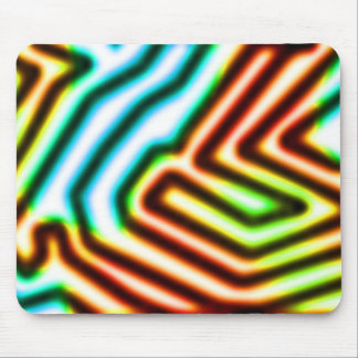 Waves of Color Mouse Pad