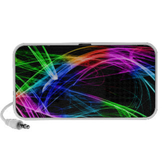 Waves of Color Travel Speakers