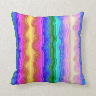 Waves of Colour Cushion