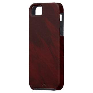 Waves of Dark Red iPhone 5 Case