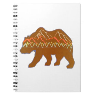 WAVES OF FOREST SPIRAL NOTE BOOK