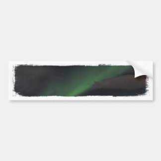 Waves of Green Light Bumper Stickers