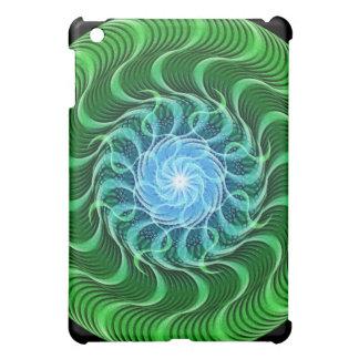 Waves of Green Mandala iPad Mini Case