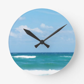 WAVES OF THE OCEAN WALL CLOCKS