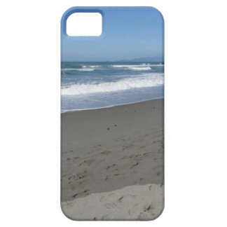 Waves of the sea on the sand beach barely there iPhone 5 case