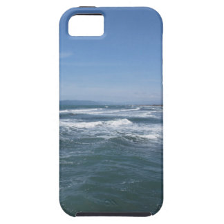 Waves of the sea on the sand beach iPhone 5 cover