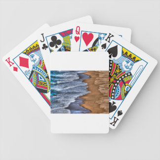 WAVES ON BEACH QUEENSLAND AUSTRALIA ART EFFECTS BICYCLE PLAYING CARDS